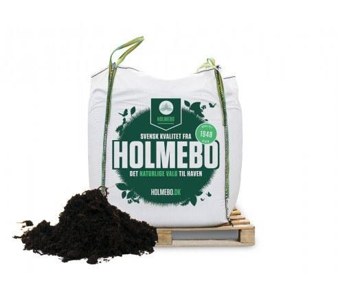 Holmebo Køkkenhavemuld -  Bigbag á 1000 liter - 2. sortering