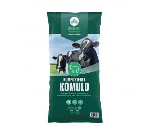 Holmebo Komposteret Komuld - 40 liters poser
