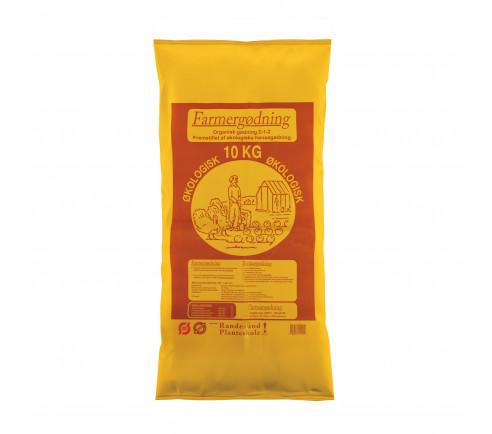 Økologisk hønsegødning 10 kg