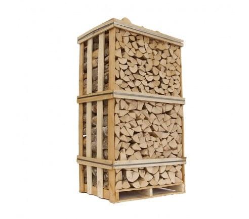 Lufttørret brænde - Ask
