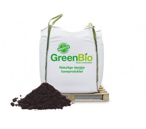 GreenBio Plænemuld med næring 0/6 mm