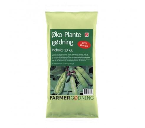 Farmergødning økologisk plantegødning 10 kilo