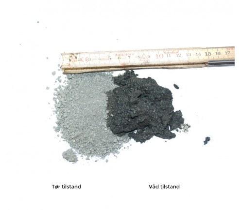 GreenBio sort granit stenmel 0-2 mm - bigbag