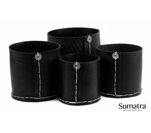 Sumatra Mini brændekurv - hele sættet