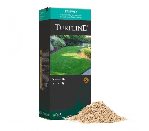 Turfline Fairway græsfrø - 1 kg. / 60 m2 - velegnet til robotklipper