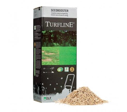Turfline SeedBooster græsfrø med Accelerator - 1 kg. / 60 m2  - coated med gødning