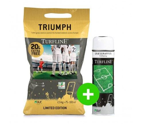 Turfline Triumph græsfrø og græsgraffiti