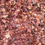 Kakaoflis - kakaoskaller udlagt