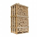 Lufttørret ask brændetårn