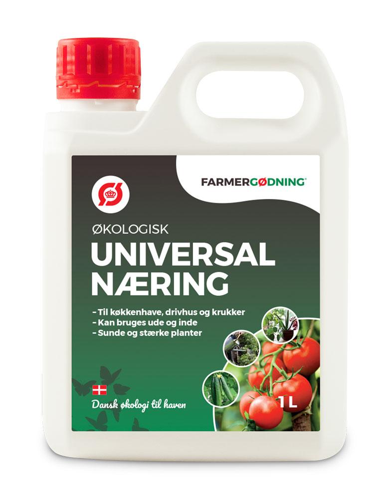 Image of   Farmergødning Økologisk Universal Næring - 1 liter