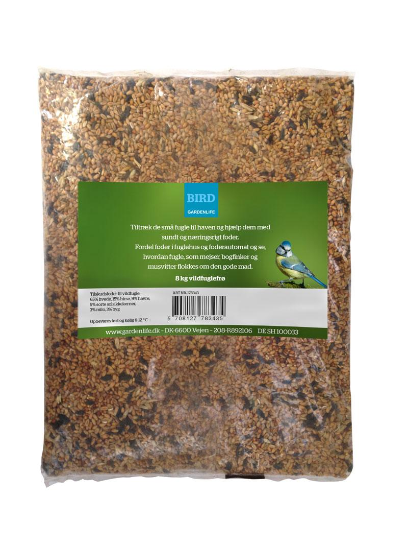 Næringsrig blanding af vildfuglefrø - 8 kg