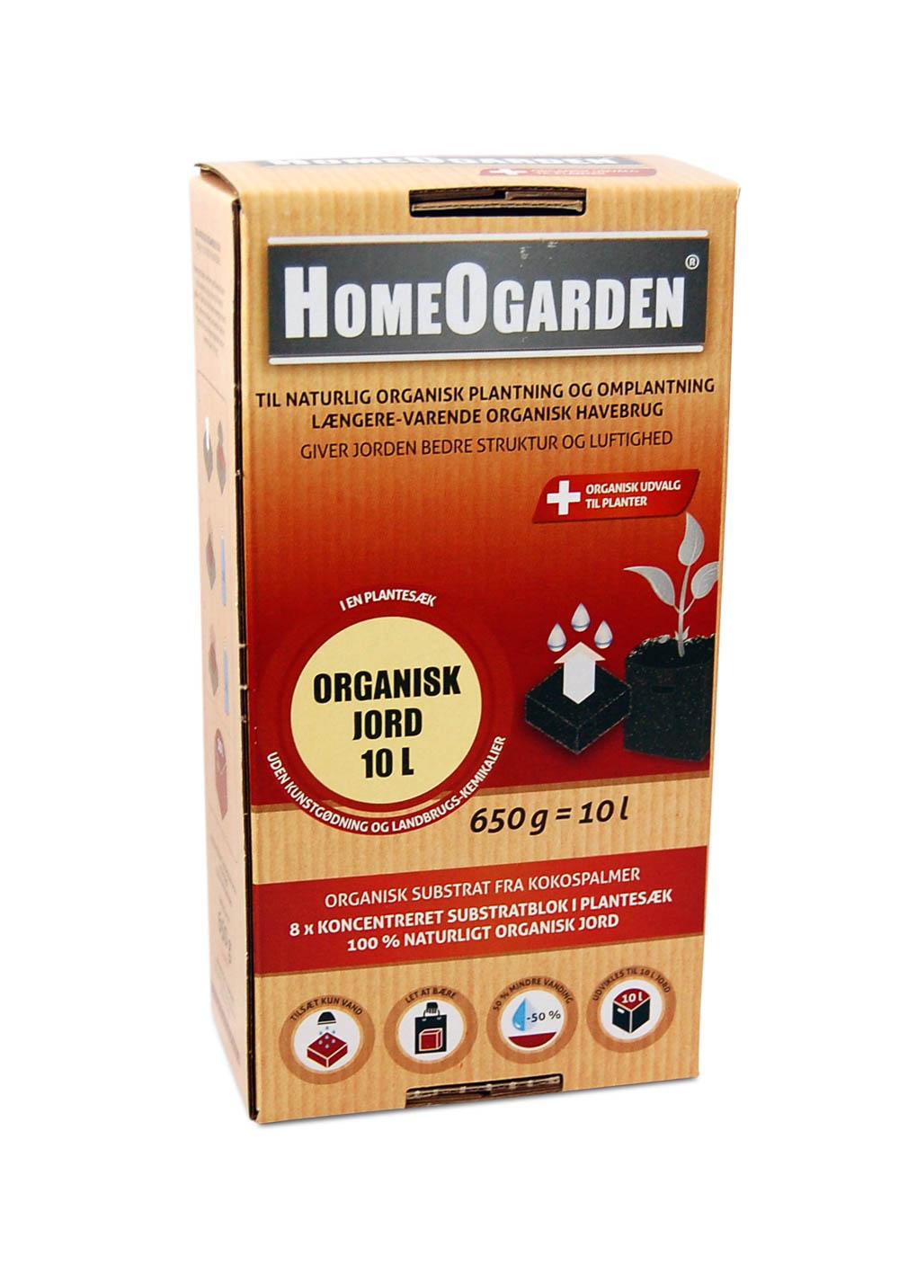 Organisk Jord 10 Liter