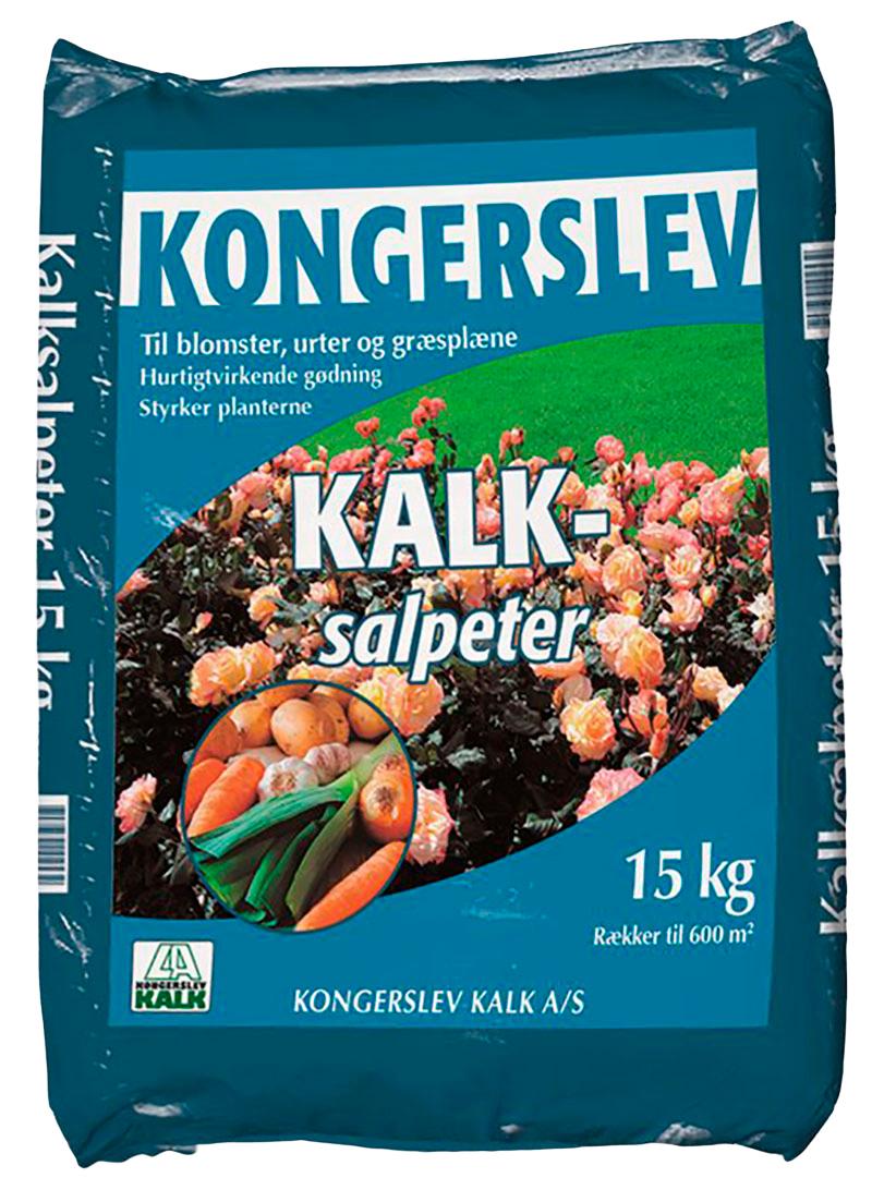 Image of   Kalksalpeter 15,5%N - 15 kg - Kvælstof gødning