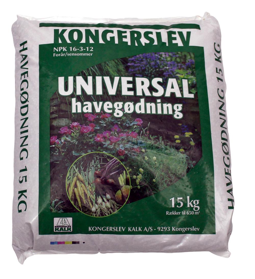 Image of   Universal Havegødning 16-3-12 mek.bl. Sæk - 15 kg