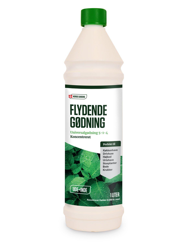 Image of   Nordic Gardens Flydende universalgødning - 1 liter