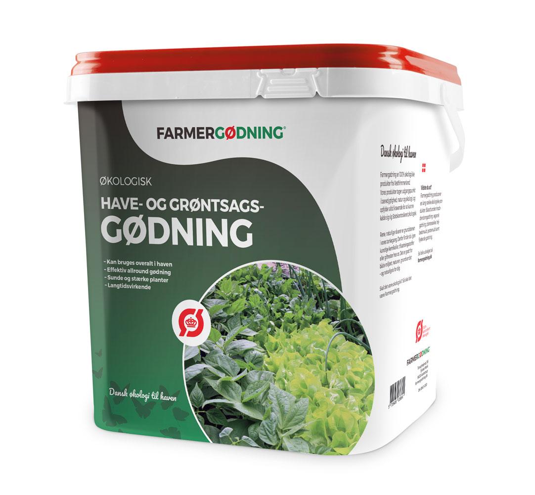 Image of   Farmergødning Økologisk Have- og grøntsagsgødning - 5 liter