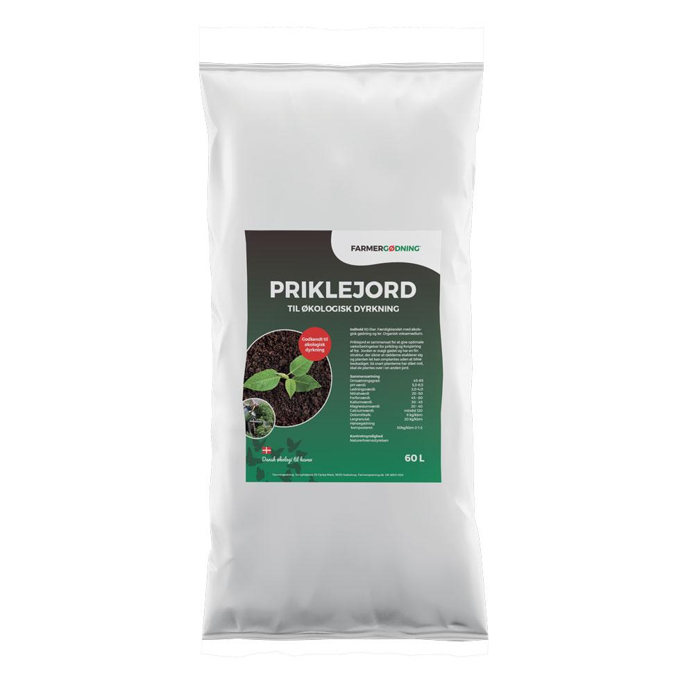Image of   Farmergødning Priklejord til økologisk dyrkning - 60 liter
