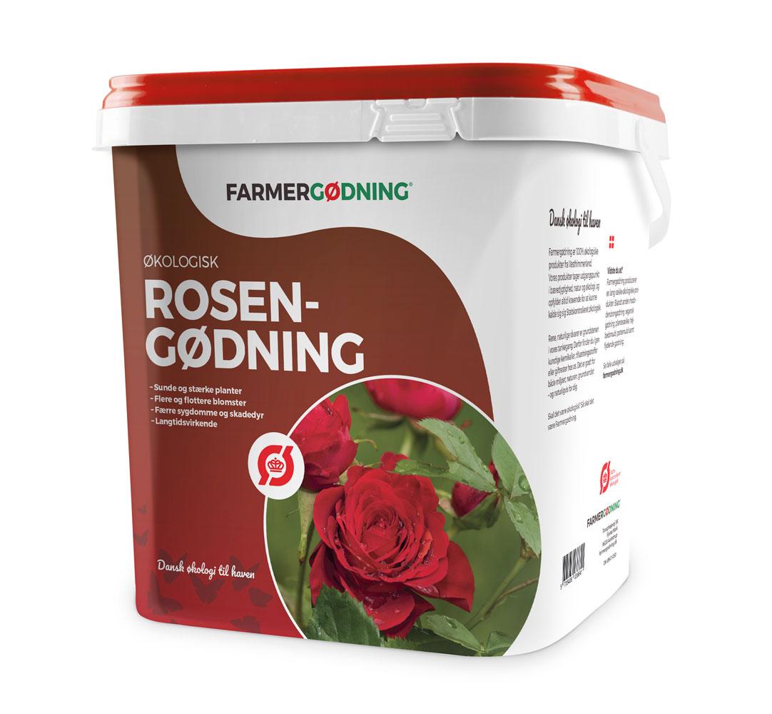 Image of   Farmergødning Økologisk Rosengødning - 5 liters