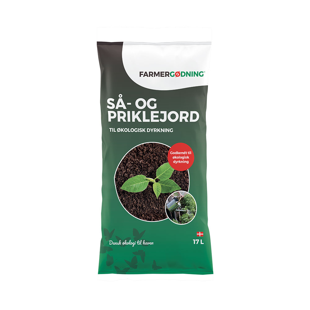 Image of   Farmergødning Så- og priklejord til økologisk dyrkning - 17 liter