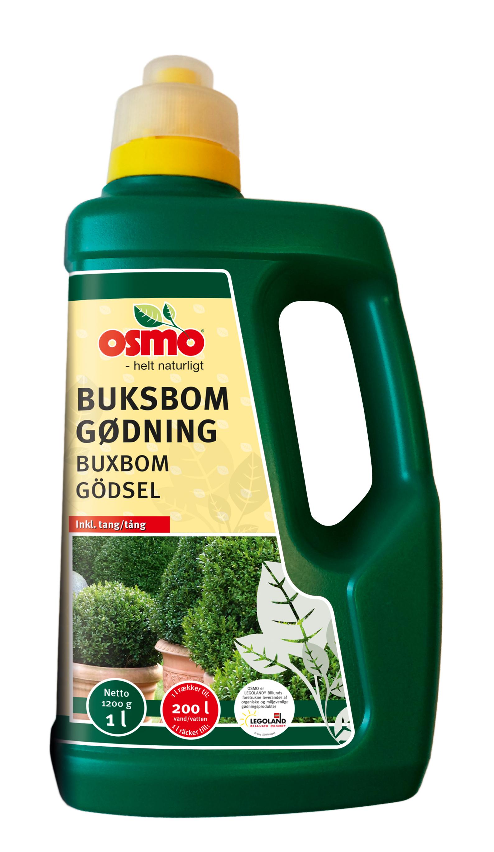 Image of   OSMO Buksbom 1 liter - Gødning til stedsegrønne planter
