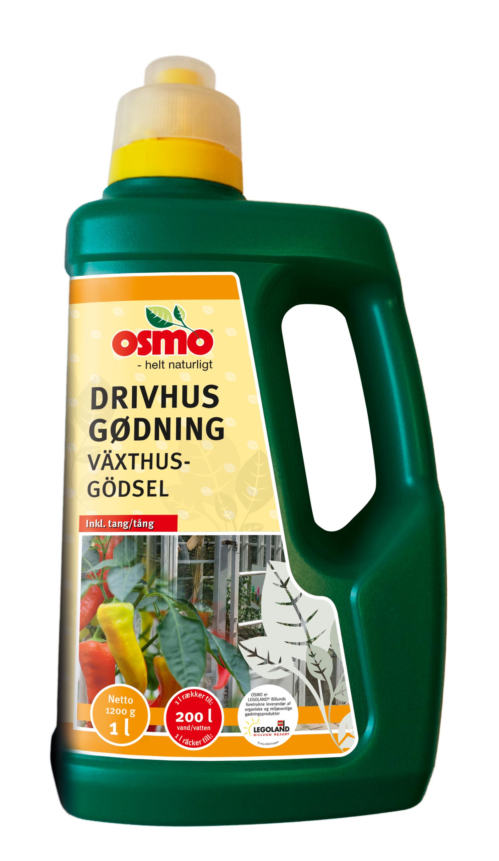 Image of Drivhusgødning - Osmo, 1 liter flydende