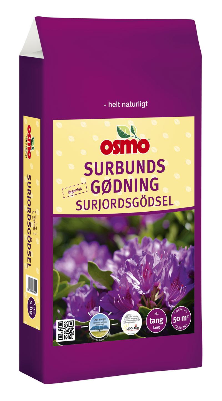 Image of   Osmo surbundsgødning - 5 kg. pose, organisk