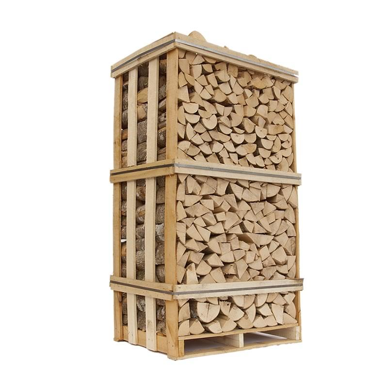 Image of   Lufttørret brænde - Ask