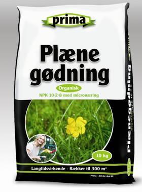 Prima Plænegødning 10 kg. organisk