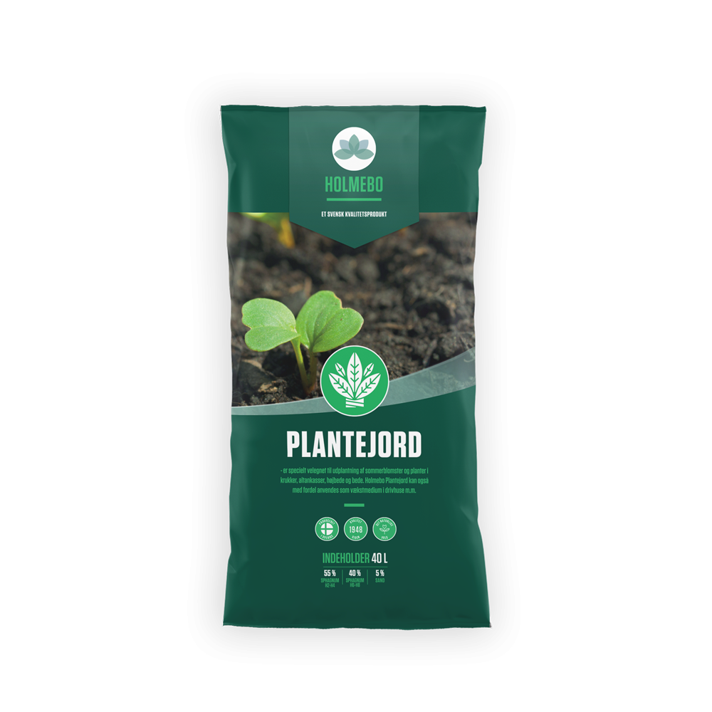 Holmebo Plantejord - 60 poser á 40 liter