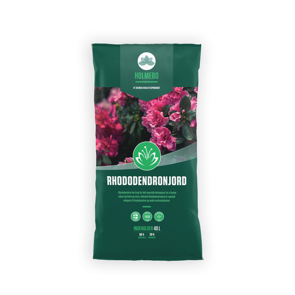 Holmebo Rhododendronjord - 60 poser á 40 liter
