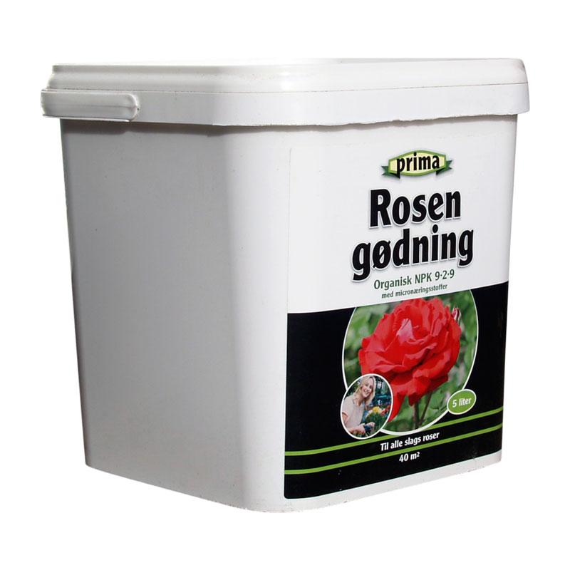Prima Rosengødning, 5 liter, organisk