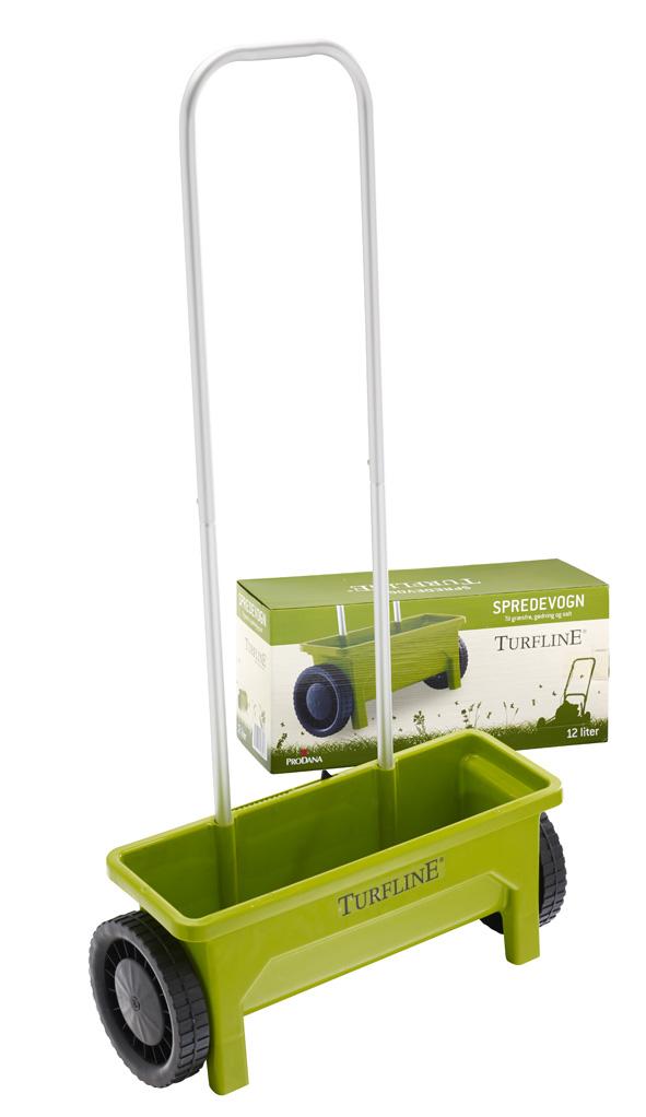 Turfline Såvogn - Spreder til græs, gødning og salt