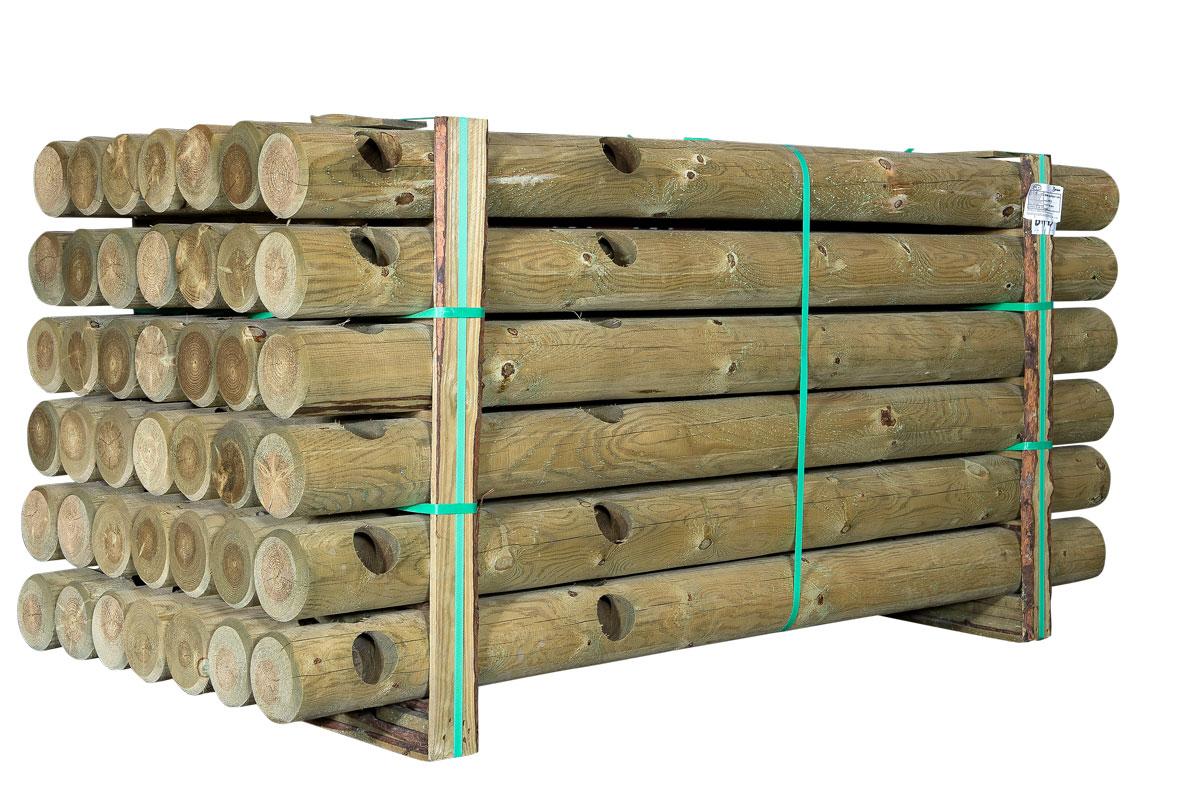pæle/rafter/stolper