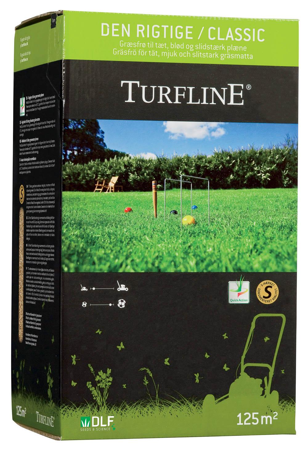 """Image of   Turfline """"Den Rigtige"""" græsplæne - græsfrø 2,5 kg."""