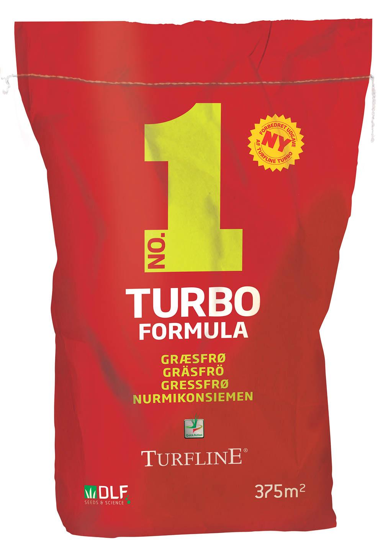 Turfline No. 1 TURBO Formula græsfrø, 7,5 kg.