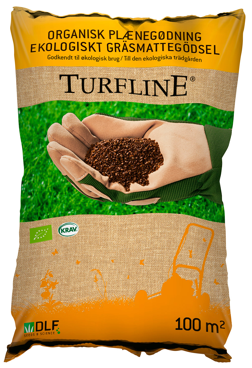 Image of   Turfline organisk gødning - 100 m2 - Godkendt til økologisk brug