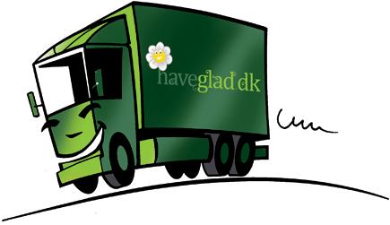 Haveglad lastbil